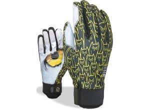 Level Pro Rider WS Snowboard Handschuhe - Mehrfarbig (logos)