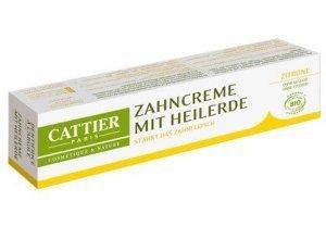 Cattier Zahncreme mit Heilerde Zitrone 75 ml