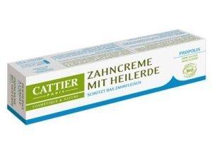 Cattier Zahncreme mit Heilerde Propolis 75 ml