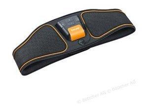 Beurer Bauchmuskelgürtel EM 37 EMS, Muskelstimulator, 4 Elektroden