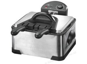 Clatronic Fritteuse FR 3195 Kaltzone-Fritteuse, 2000 Watt, für 4 Liter