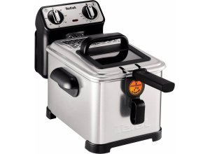 Tefal Fritteuse Filtra Pro Inox and Design FR5101, 2300 W, silberfarben