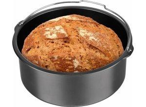 Gourmet Maxx Brotbackkorb 1,7 Liter. NUR passend für GOURMETmaxx Heißluftfritteusen Bestell-Nr. 673878 und 78457109, grau