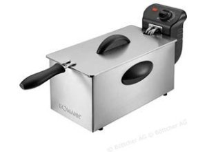 Bomann Fritteuse FR 2264 CB Kaltzone-Fritteuse, 2000 Watt, für 3 Liter