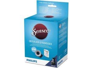 Philips SENSEO® Viva Café Pflegeset CA6515/02 Entkalker und Kaffeepadhalter für 2 Tassen