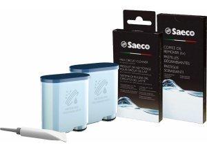 Saeco Rundum Pflegeset CA6707/00 für Saeco Kaffeevollautomaten mit AquaClean