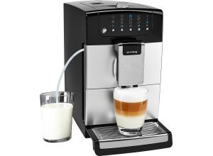 Privileg Kaffeevollautomat Kegelmahlwerk, 1,4l Tank, Kegelmahlwerk, silberfarben