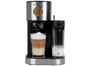 MEDION® Espresso Maschine MD 17116 mit 15 bar »Milchaufschäumer, 1.470 Watt, 1,2 l Wassertank«, schwarz