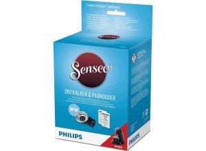 Philips SENSEO® Original Pflegeset CA6514/02 Entkalker und Kaffeepadhalter für 2 Tassen