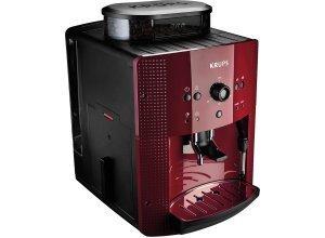 Krups Kaffeevollautomat EA8107, 1,8l Tank, Kegelmahlwerk, rot