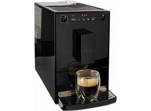 Melitta Kaffeevollautomat CAFFEO® Solo® Pure Black E 950-222, extra schmales Design, schwarz