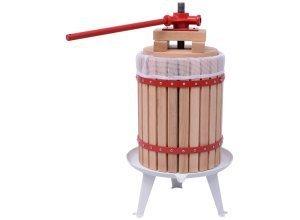 vidaXL Obst- und Weinpresse 18 L
