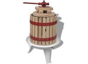 vidaXL Obst- und Weinpresse 12 L