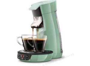 Philips Kaffeepadmaschine Senseo HD7829/10, Viva Cafe, 1450W, 0,9 Liter, mintgrün