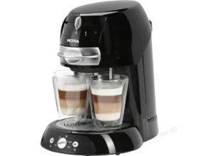 Petra Kaffeepadmaschine Artenso Latte, KM 42.17, 1600W, 1,3 Liter, schwarz