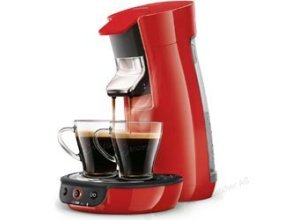 Philips Kaffeepadmaschine Senseo HD7829/80, Viva Cafe, 1450W, 0,9 Liter, rot