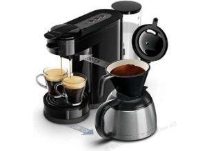 Philips Kaffeepadmaschine Senseo HD7892/60, Switch, 1450W, 1 Liter, schwarz