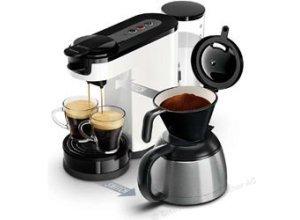 Philips Kaffeepadmaschine Senseo HD7892/00, Switch, 1450W, 1 Liter, weiß