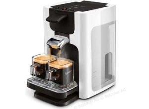 Philips Kaffeepadmaschine Senseo HD7865/00, Quadrante, 1450W, 1,2 Liter, weiß