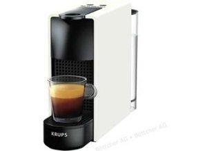Krups Kaffeekapselmaschine Nespresso Essenza Mini, XN1101, 1310W, 0,6 Liter, weiß