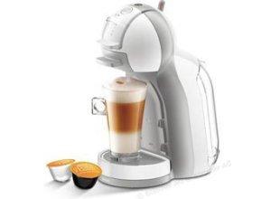 Krups Kaffeekapselmaschine Dolce Gusto, KP 1201, Mini Me, 1500W, 0,8 Liter, weiß / grau