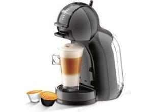 Krups Kaffeekapselmaschine Dolce Gusto, KP 1208, Mini Me, 1500W, 0,8 Liter, schwarz / anthrazit