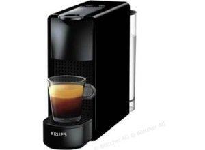 Krups Kaffeekapselmaschine Nespresso Essenza Mini, XN1108, 1310W, 0,6 Liter, schwarz