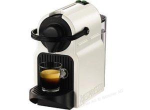 Krups Kaffeekapselmaschine Nespresso Inissia, weiß, XN1001, 1260W, 0,8 Liter