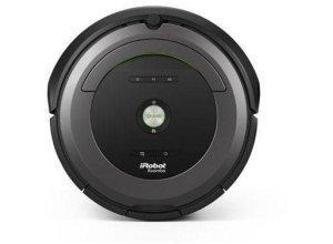 iRobot Saugroboter Roomba 681, beutellos, silberfarben