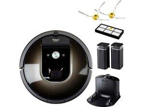 iRobot Saugroboter Roomba 980, beutellos, App-fähig, schwarz