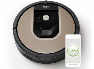 iRobot Saugroboter Roomba 966, Appfähig, natur