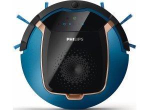 Philips Saugroboter FC8812/01, SmartPro Active, blau