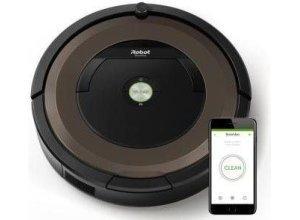 iRobot Saugroboter iRobot Roomba 896, 30 Watt, beutellos, Appfähig: iRobot HOME App, schwarz