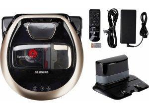 Samsung Saugroboter POWERbot VR7000 VR2DM7060WD/EG, 130 Watt, Appfähig, goldfarben