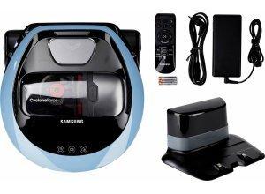 Samsung Saugroboter POWERbot VR7000 VR1DM7020UH/EG, 80 Watt, beutellos, blau
