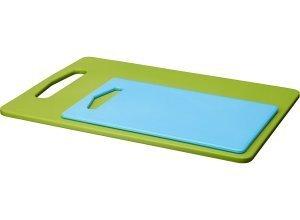 LEGITIM, Schneidebrett 2er-Set, grün, blau