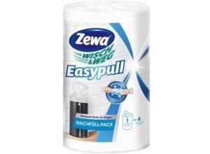 Zewa Wisch & Weg Easypull Nachfüllrolle, Kompakt-Rolle reißfest & saugstark, 1 Nachfüllrolle