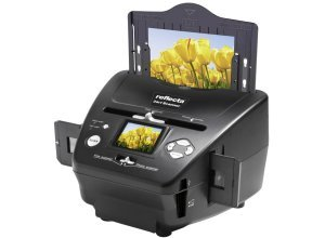 Reflecta Dia-, Negativ- & Fotoscanner »3 in 1 Scanner«, schwarz