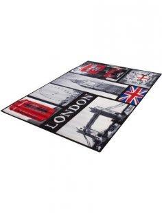 Teppich, »London«, Andiamo, rechteckig, Höhe 5 mm, maschinell getuftet