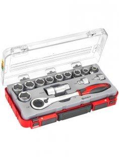 Steckschlüssel-Durchstecksatz »COX580214«, 14-tlg.