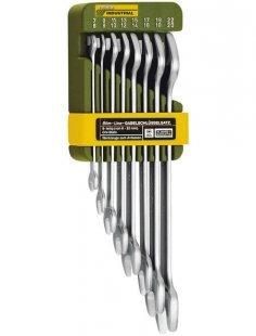 Maulschlüsselsatz »Doppel-Maulschlüsselsatz, von 6 x 7 bis 20 x 22 mm«, (8 tlg.)
