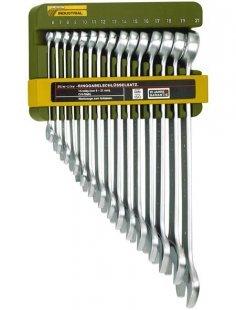 Maulschlüsselsatz »Slim Line Ring-Maulschlüsselsatz, 6 - 21 mm«, (15-tlg.)