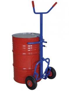 Sackkarre »blau«, für Fässer bis 100 kg