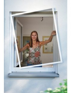 Insektenschutz-Fenster »PREMIUM«, BxH: 100x120 cm, weiß