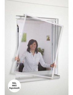 Insektenschutz-Fenster »Basic «, Bausatz weiß, in verschiedenen Größen