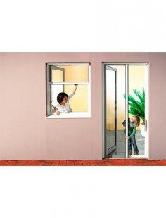 Komplett-Set: Insektenschutz-Rollo »Premium«, BxH: 160x160 cm, weiß