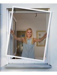 Insektenschutz-Fenster »PLUS«, BxH: 100x120 cm, weiß