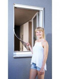Insektenschutz-Fenster »Magnet«, BxH: 80x140 cm, weiß