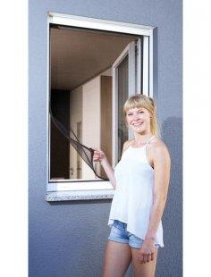 Insektenschutz-Fenster »Magnet«, BxH: 100x120 cm, anthrazit