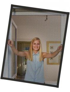 Insektenschutz-Fenster »PLUS«, BxH: 130x150 cm, anthrazit